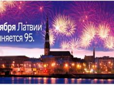 день рождения латвии