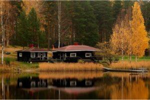 Отдохнуть в Финляндии недорого : в октябре умиротворение на лоне природы