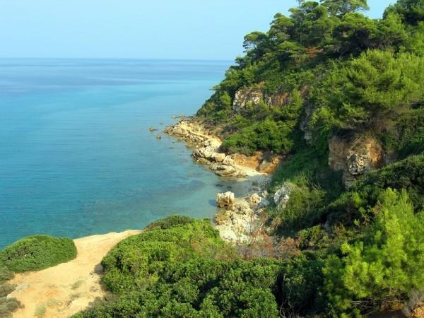 Полуостров Кассандра Греция фото