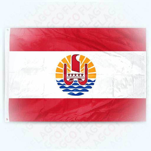 флаг острова таити
