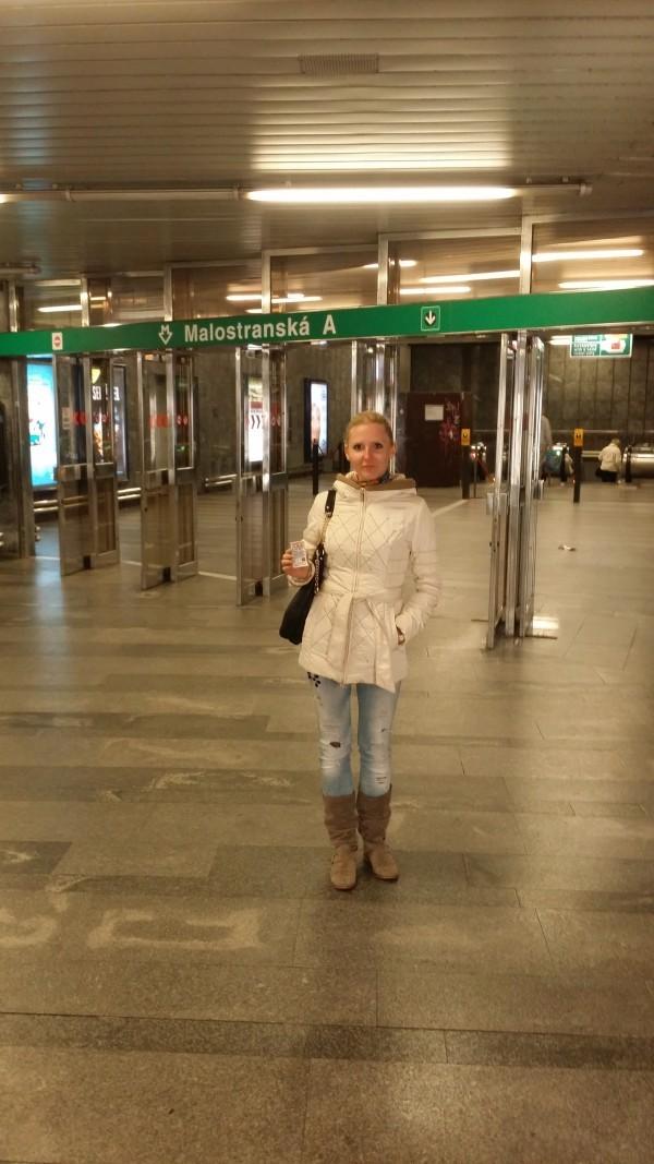 карта метро Праги на русском