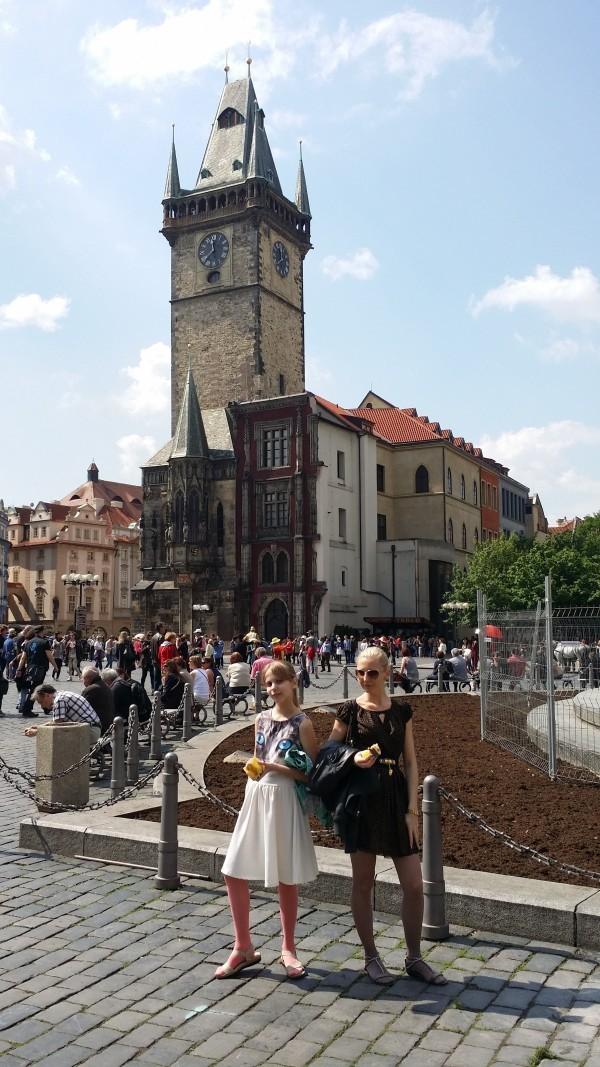 Староместская площадь в Праге фото