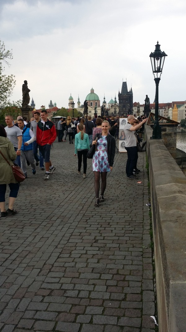 Карлов мост в Праге загадать желание