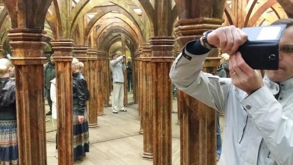 зеркальный лабиринт в Праге