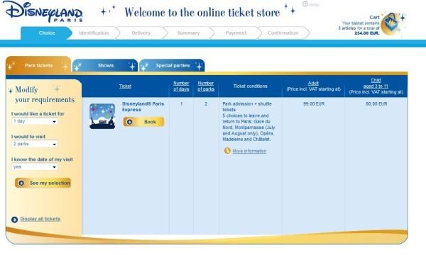 Цена билета в диснейленд