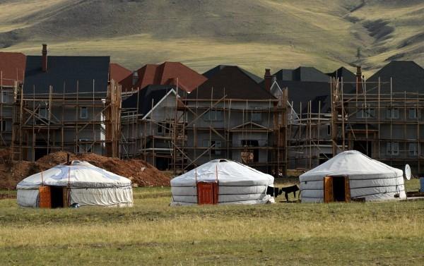 монгольская юрта фото