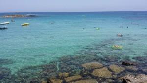 Самый красивый пляж Кипра : в поисках  Фиг Три Бич