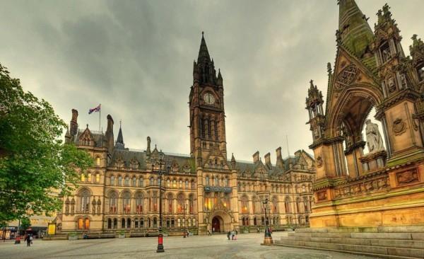 город Манчестер Англия фото