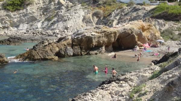 Пляж Санта Понса