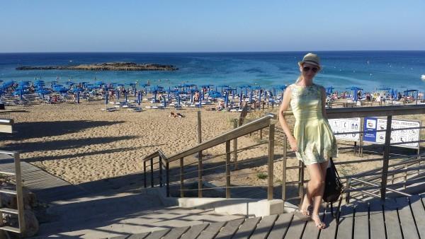 Самый красивый пляж на Кипре
