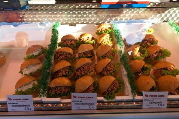 Гамбургеры с креветками