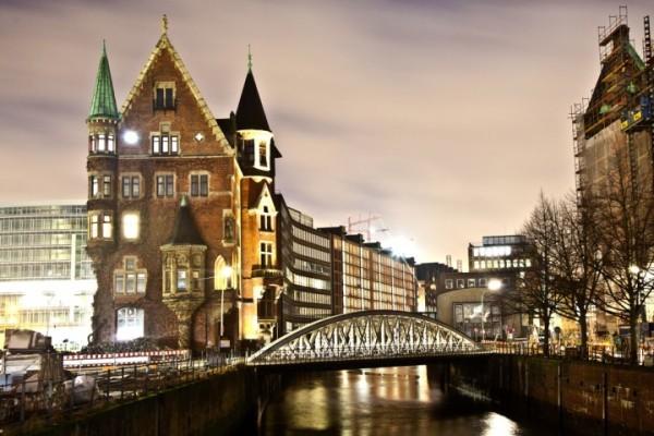 Ночной Гамбург