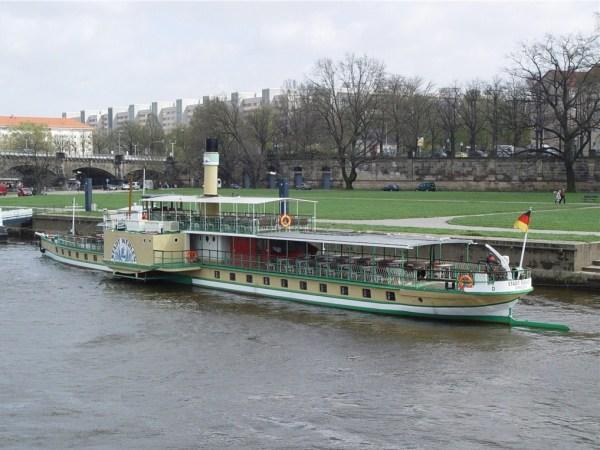 Пассажирский транспорт по Эльбе