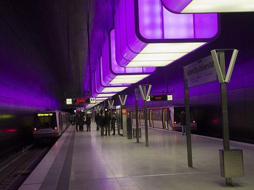 Станция метро Хафенсити
