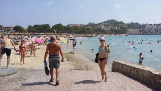 Санта Понса Майорка пляж