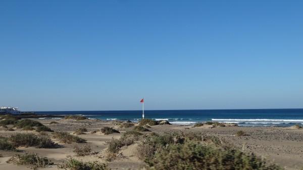 Пляж Фамара Лансароте