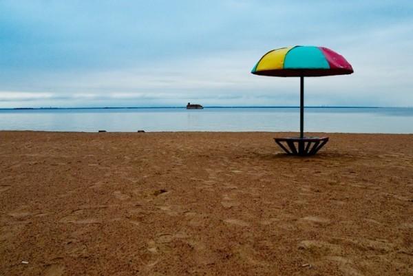 Городской пляж Ханты Мансийск