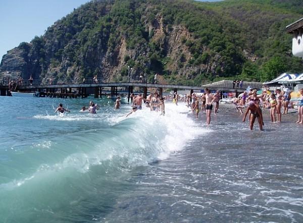 Пляж Нугушское водохранилище