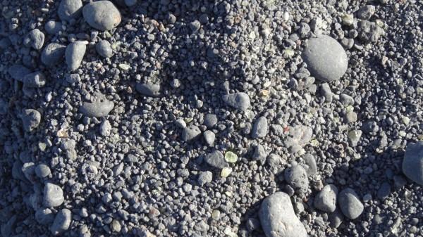 Черный пляж с оливинами