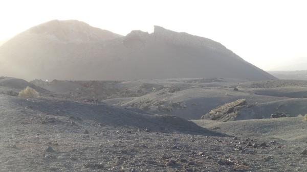 Кратер вулкана Ла Асомада