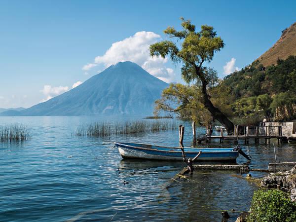 Гватемала на карте Южной Америки