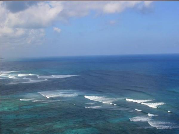 Подводные течения океанов
