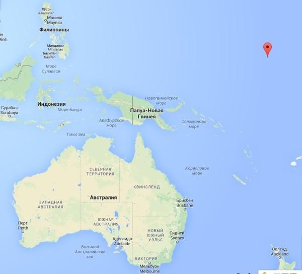 маршаловые острова на карте