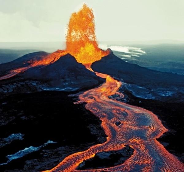 Гавайский тип извержения