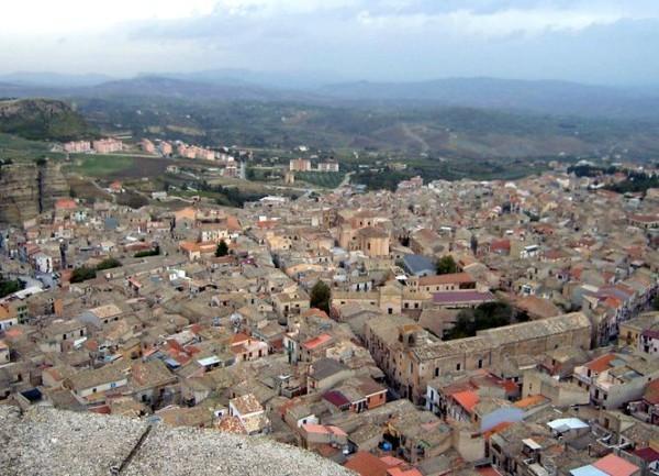 Город Корлеоне Сицилия