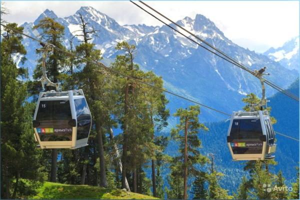Архыз как добраться до горнолыжного курорта