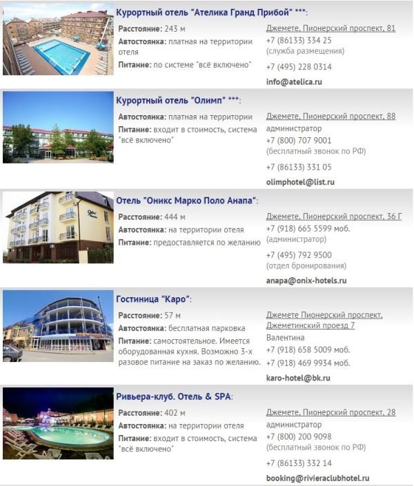джемете отели все включено с бассейном и пляжем