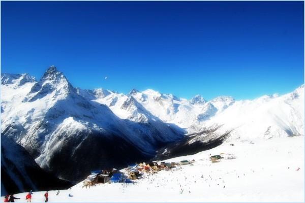 Домбай горнолыжный курорт цены