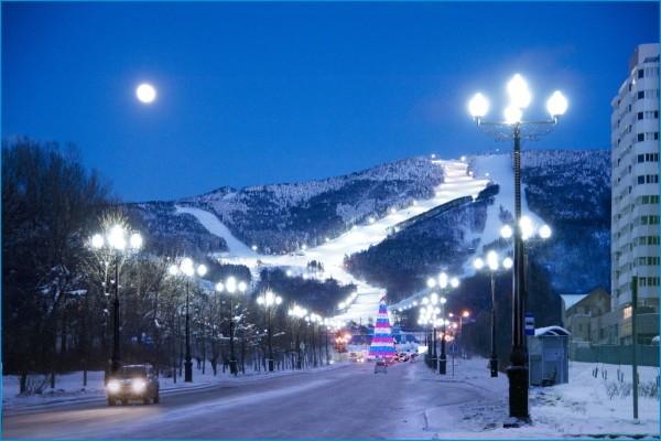 Сахалин горнолыжный курорт