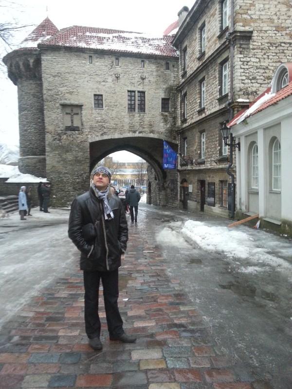 Таллин зимой фото