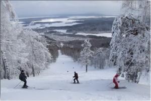 Гора Вишневая Челябинская область горнолыжный курорт