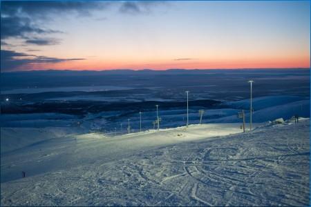 Кировск горнолыжный курорт Большой Вудъявр