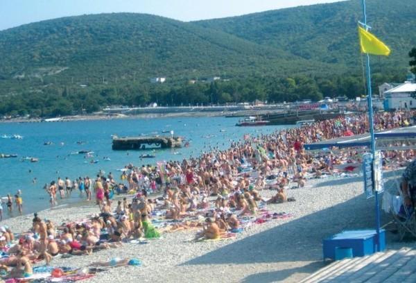 Центральный пляж в кабардинке фото