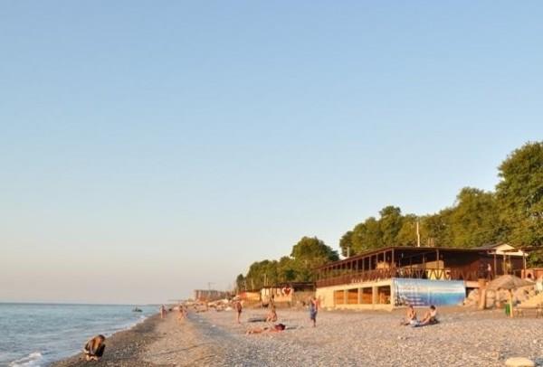 Пляж Дельфин фото