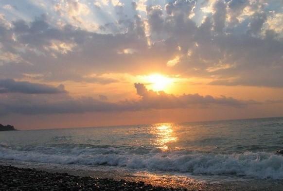 Пляж Янтарь фото