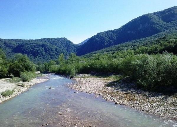 Река Курджипс фото