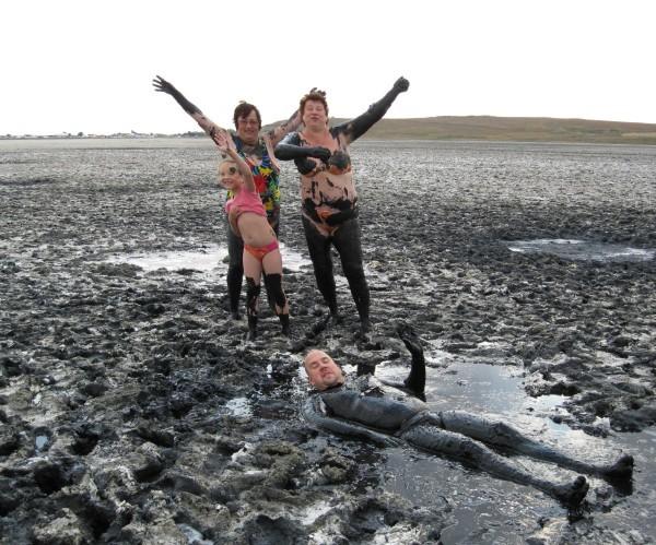 Солёное озеро и лечебная грязь в Веселовке