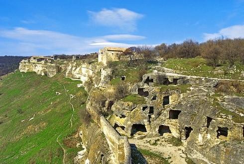 крепость чуфут кале фото