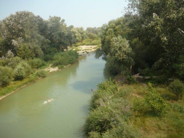 Верховье реки Абин фото