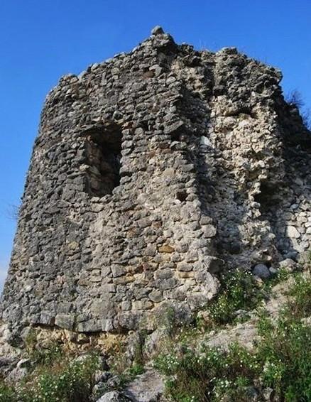 Крепость в селе Абахваца