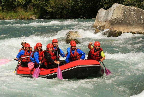 Рафтинг по реке Бзыбь