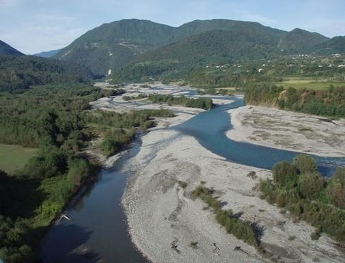 Река Кодор в Сухуми фото