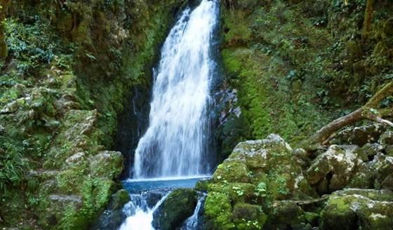 Село Хабю и водопады