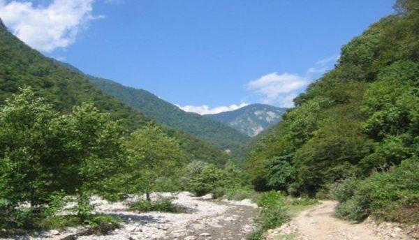 Жоэкварское ущелье в Багрипше