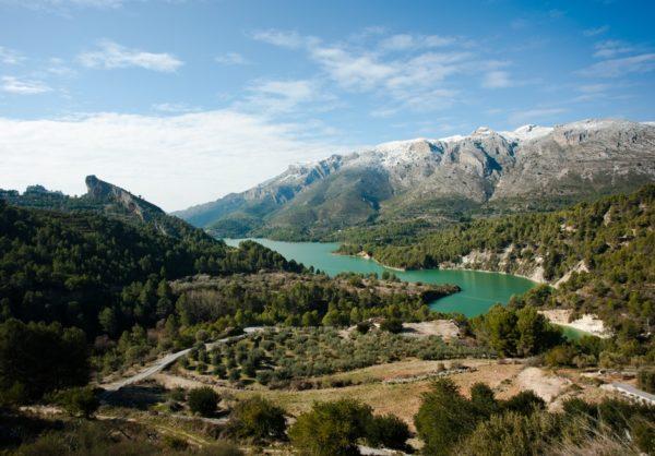 Долина и водохранилище Гуадалест