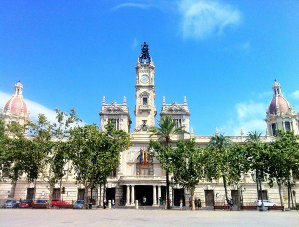 Городская ратуша в Валенсии